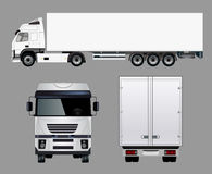 Commercial Truck Royalty Free Stock Photos