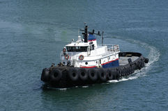 Commercial tug-boat Stock Images