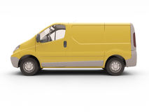 Commercial van isolated Stock Images