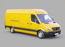 Commercial van Stock Image