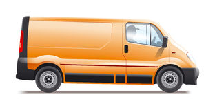 Commercial vehicle royalty free stock images