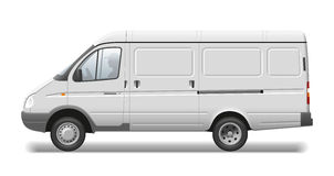 Commercial vehicle royalty free stock photo
