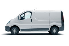 Commercial vehicle Royalty Free Stock Image