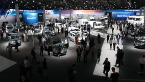 Commercial Vehicles Fair IAA 2016 in Hannover, Germany stock video