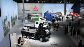 Commercial Vehicles Fair IAA 2016 in Hannover, Germany stock video footage