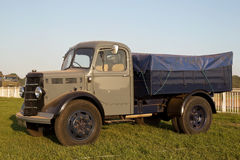 Commercial vintage truck Stock Photo