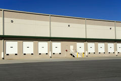 Commercial Warehouse. A new commercial warehouse for lease Royalty Free Stock Photo