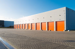 Commercial warehouse exterior Stock Image
