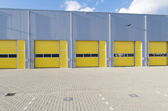 Commercial warehouse Royalty Free Stock Photos