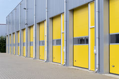 Commercial warehouse exterior Stock Photo