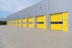 Commercial warehouse exterior Stock Photos
