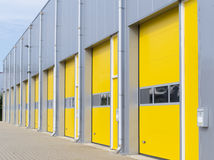 Commercial warehouse exterior Royalty Free Stock Images