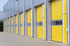 Commercial warehouse exterior Stock Photo