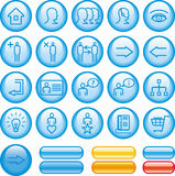 Commercial Website Icon Set (Vector) stock illustration
