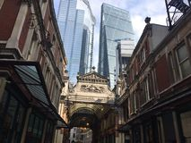 Harry Potter Leadenhall buildings royalty free stock images