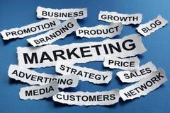 Commercialisation Photographie stock libre de droits