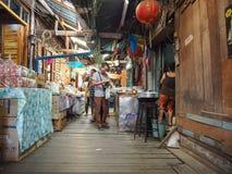 Commercialisation de 100 ans chez Chachoengsao, la Thaïlande Photo libre de droits