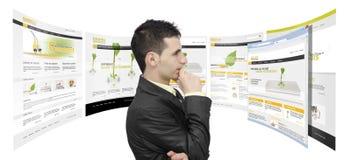 Commercializzazione e progettazione fotografia stock