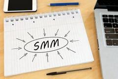 Commercializzazione sociale di media Immagini Stock Libere da Diritti