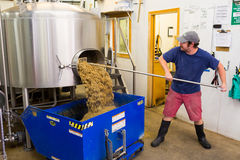 Commercially Brewing IPA at Oakshire Royalty Free Stock Photos