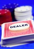 Commerciante Fotografie Stock
