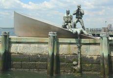 Commerciante americano Marines Monument in Manha più basso fotografia stock