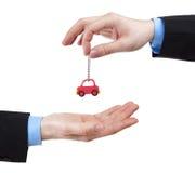Commerciante di automobile Fotografie Stock Libere da Diritti