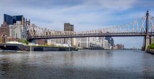 Commerciante di East River Fotografia Stock
