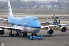 Commercieel Boeing 747 Image stock