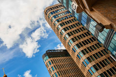 Commercieel centrum royalty-vrije stock afbeelding
