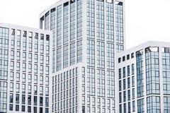 Commercieel centrum in de nieuwe kwarten van de stad Stock Foto