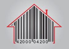 Commercieel concept met streepjescode stock illustratie