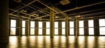 Commercieel gebouw in een winkelcentrumhuur Royalty-vrije Stock Afbeelding