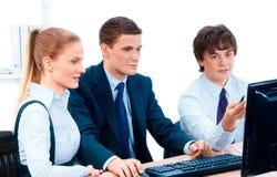 Commercieel groepsportret Stock Fotografie