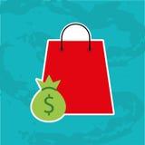 commercieel pictogramontwerp stock illustratie
