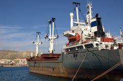 Commercieel schip royalty-vrije stock afbeelding