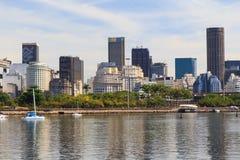 Commercieel stadscentrum van Rio de Janeiro Royalty-vrije Stock Afbeelding