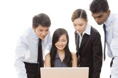 Commercieel Team 1 stock fotografie