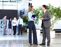 Commercieel team. Royalty-vrije Stock Afbeelding
