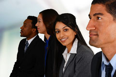 Commercieel Team Royalty-vrije Stock Fotografie