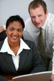 Commercieel Team Royalty-vrije Stock Afbeeldingen