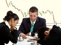 Commercieel team Stock Afbeelding
