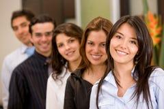 Commercieel team Stock Foto's