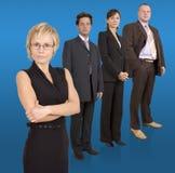 Commercieel team Royalty-vrije Stock Foto