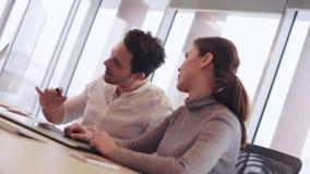 Commercieel team stock video