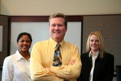Commercieel Team in Bureau Stock Afbeeldingen