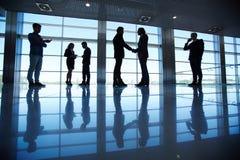 Commercieel team in bureau Royalty-vrije Stock Afbeeldingen