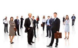 Commercieel team dat van jongelui wordt gevormd Stock Fotografie