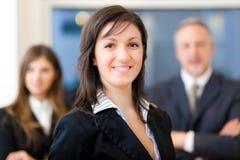 Commercieel team: groep zakenlui Royalty-vrije Stock Foto