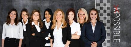 Commercieel team op het werk Royalty-vrije Stock Afbeelding